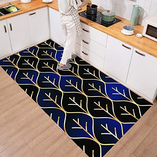 MIAOSHA Alfombras para Cocina Largas Alfombra de Pasillo de Textil Antimanchas Lavable Antideslizante, Alfombras Rebajas para alfombras de Entrada a pasillos