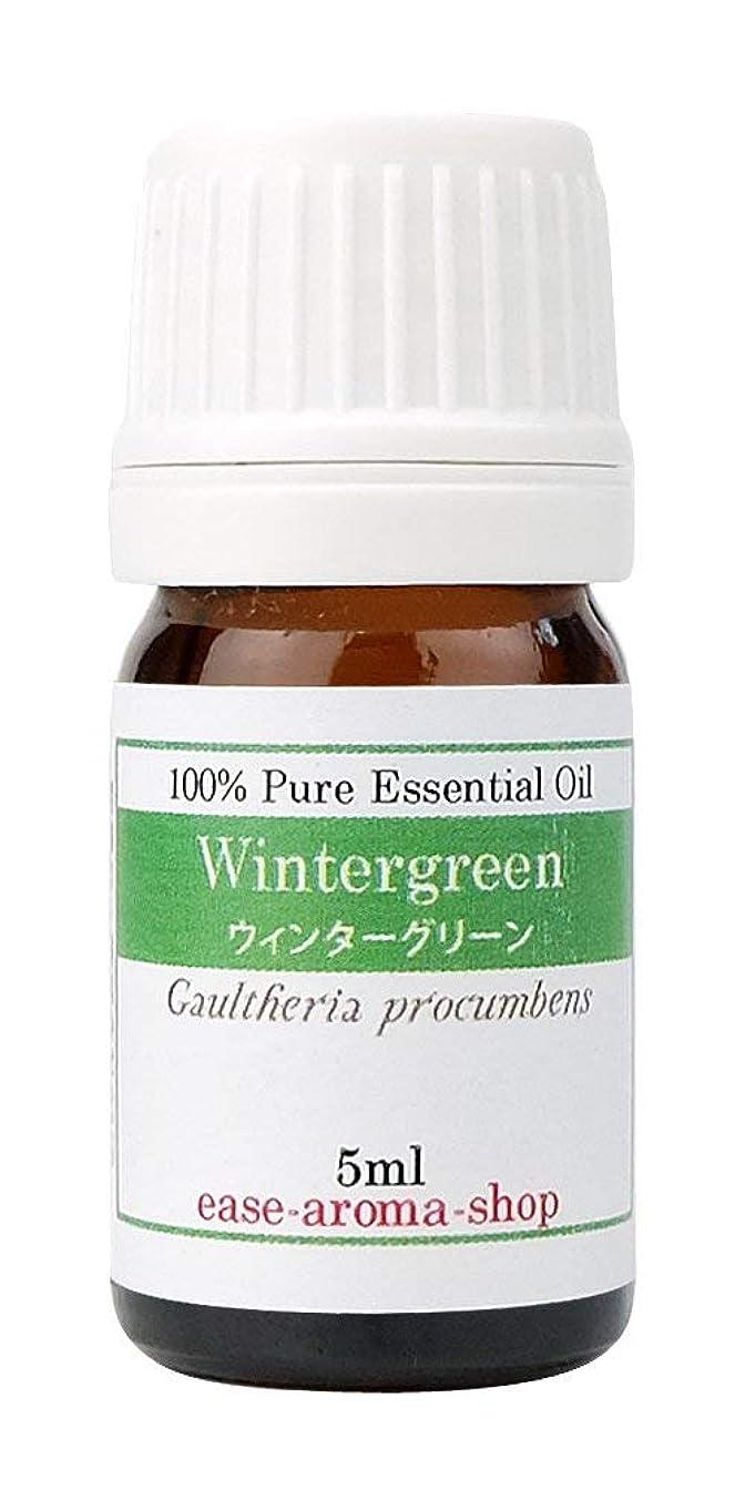 エジプト雪だるま資格ease アロマオイル エッセンシャルオイル ウィンターグリーン 5ml AEAJ認定精油