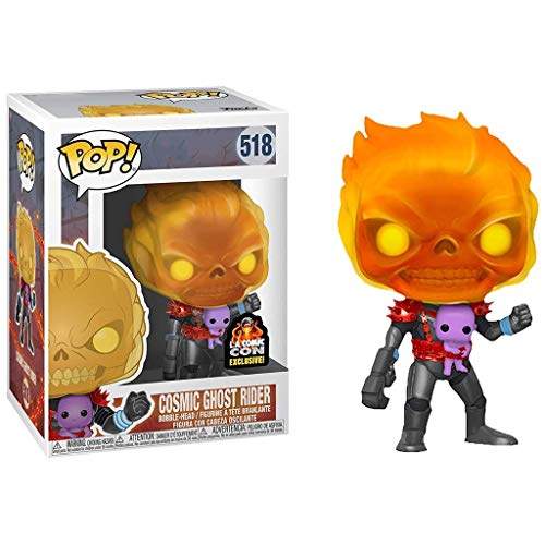 QToys Funko Pop! Ghost Rider #518 Cosmic Ghost Rider Exclsive! Chibi