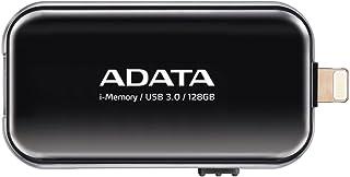 ADATA iPhone・iPad・iPod touch Lightning接続USB3.0メモリ UE710 128GB ブラック AUE710-128G-CBK