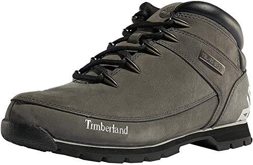 Timberland Euro Sprint Hiker, Botas Hombre, Gris Medium Grey Nubuck, 40 EU