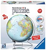 Best World Globes - Ravensburger 12436 World on a V-Stand 540 Piece Review