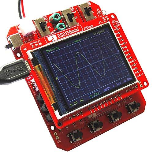KKmoon Mini Digital Scope Meter DIY Kit JYE Tech DSO138 SMD Parts Pre-soldered Electronic Learning Set 1MSa/s 0-200KHz