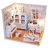 DIY Mini casa de Juguete Conjunto-Modelo Building Suite Amanda habitación