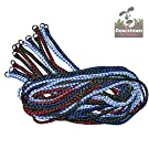 Durable Braided Poly Dog Slip Leads, Animal Control Kennel 5 FT Slip Leads, Strong Leashes for Dogs, Grooming, Shelter, Rescues, Vet, Veterinarian, Doggy Daycare or Pet Training