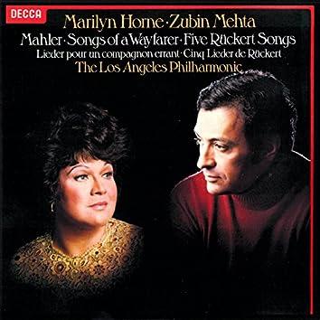 Mahler: Rückert-Lieder; Lieder eines fahrenden Gesellen