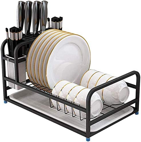 Anti-rust Dish rack 2021 spring and summer new 304 Stainless Board with In stock Steel Drain Drainer