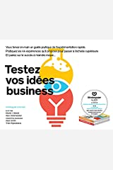 Testez vos idees business Hardcover