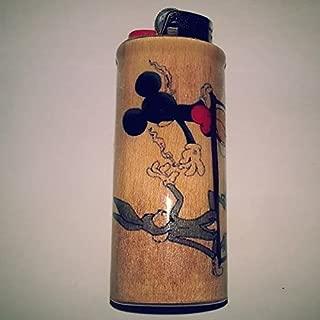 Bugs Bunny Mickey Mouse Joint Pass Lighter Case, Weed, Marijuana, Ganja, Lighter Holder, Lighter Sleeve