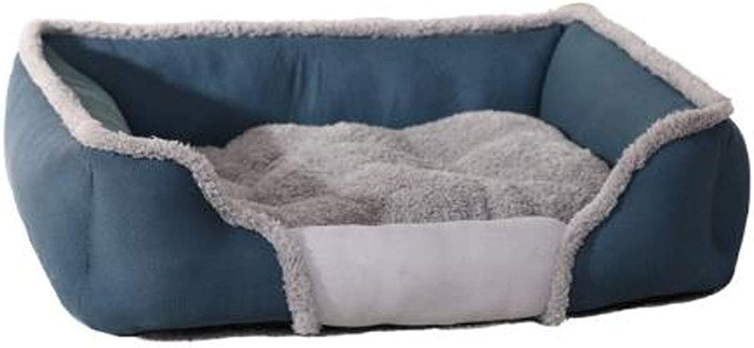 Pet beds for Medium Small Large Dogs Spring, Summer, Autumn and Winter beds for Cats Washable,Bronze,S