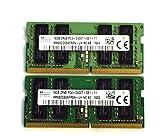 Hynix 32GB 2RX8 PC4-2400T-SE1-11 HMA82GS6AFR8N-UH N0 DDR4-2400 SODIMM