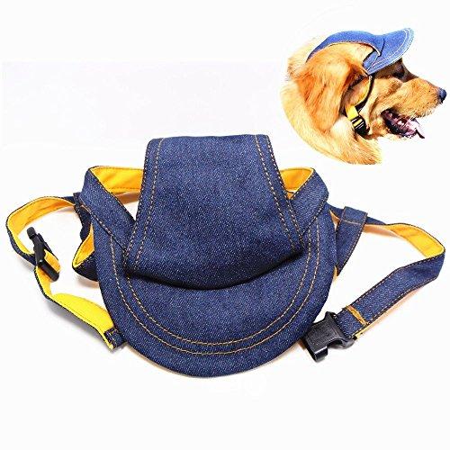 para perros peque/ños Gorra para perros proteger del sol medianos y grandes para actividades al aire libre etc. dise/ño de gorra de b/éisbol