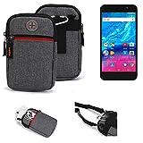 K-S-Trade® Gürtel-Tasche Für Archos Core 55P