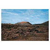 artboxONE Poster 30x20 cm Natur Vulkanlandschaft Lanzarote