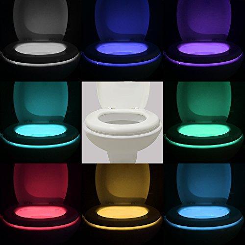 Motion Sensor LED Toilet Night Light