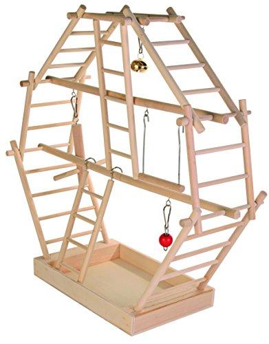 Trixie 5659 Holz-Leiterspielplatz, 44 × 44 × 16 cm