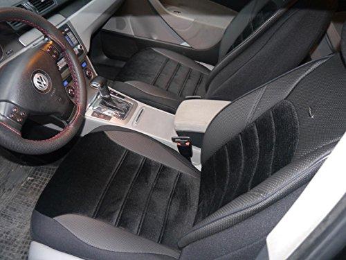 Sitzbezüge K-Maniac für Dodge Journey | Universal Schwarz | Autositzbezüge Set Komplett | Autozubehör Innenraum | No. 2 | Kfz Tuning | Sitzbezug | Sitzschoner