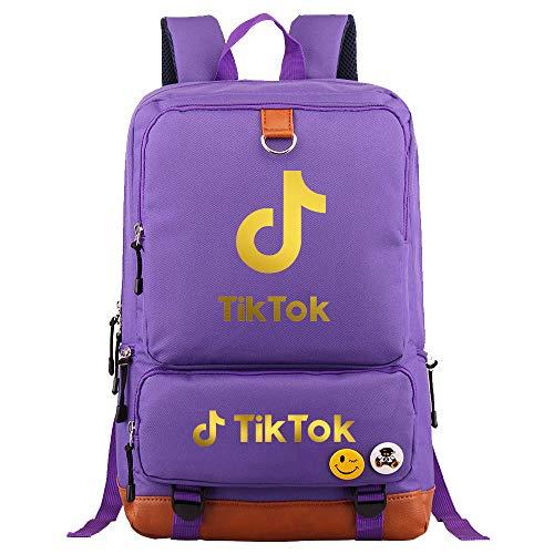 Camping Backpack Girl Travel Multifunctional Backpack Large Capacity Food Backpack 45cm * 30cm * 15cm Purple