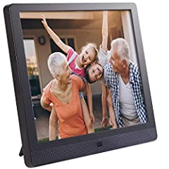 Amazing photo and video viewing experience: 15 inch LED display, 1024x768 pixels, 4:3 ratio. Easily manage the frame remotely and connect up to 25 frames from one single online account, completely FREE. Easy set-up: Wi-Fi enabled (2.4 GHz only, 5 GHz...