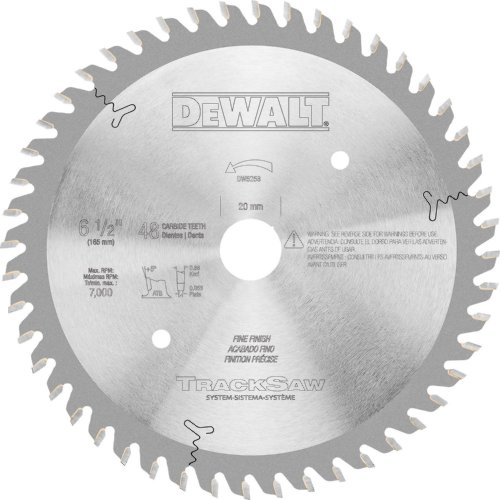 DeWalt dw52586–1/2-inch por 48T Ultra fino acabado tracksaw hoja