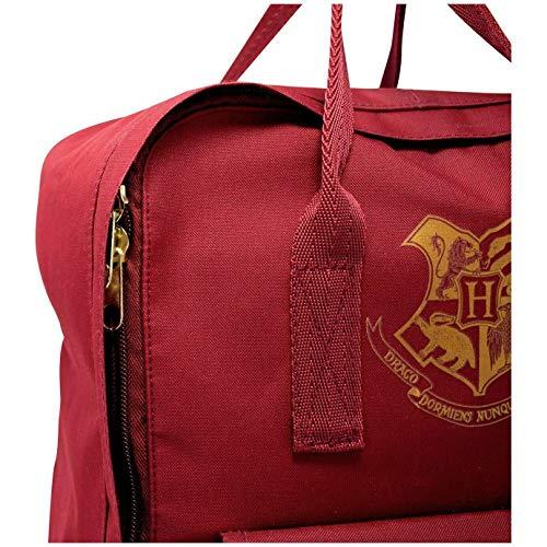 Blue Sky Studios Harry Potter Kinder-Rucksack Hogwarts - Jungen Mädchen Unisex Schultasche - Kinder Canvas Tagesrucksack Camping Rucksack - geräumige Übernachtung Urlaub Laptop Tasche