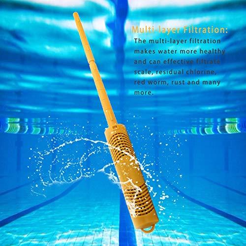 alikena Purificador De Agua De Piscina, Filtro De Bañera De Estanque De Peces (1.26 1.26 16.14in) Well-Matched: Amazon.es: Deportes y aire libre