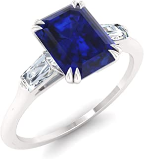 Best sapphire and diamond baguette ring Reviews