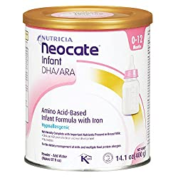 #6. Nutricia neocate LCP Amino Acid Based Infant Formula