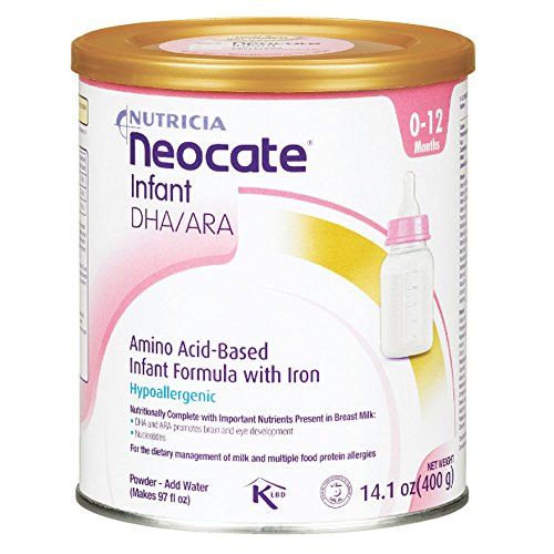 Neocate Infant with DHA and ARA, 14.1 oz / 400 g (Case...
