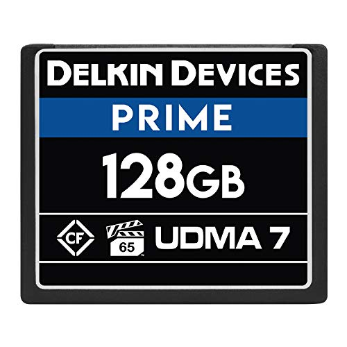 Delkin Devices 128GB Prime CompactFlash VPG-65...