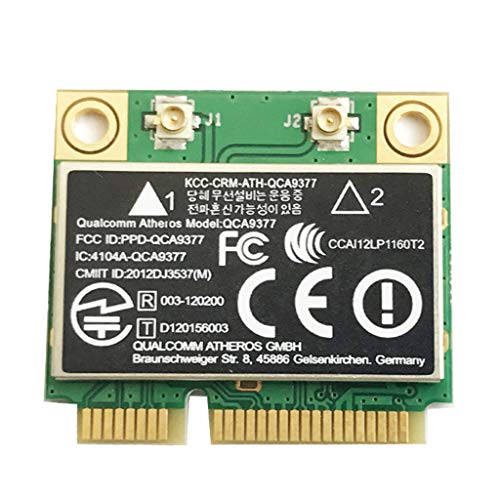 Ontracker - Tarjeta WLAN para Atheros QCA9377 Dualband BT4.2 WiFi módulo Mini...