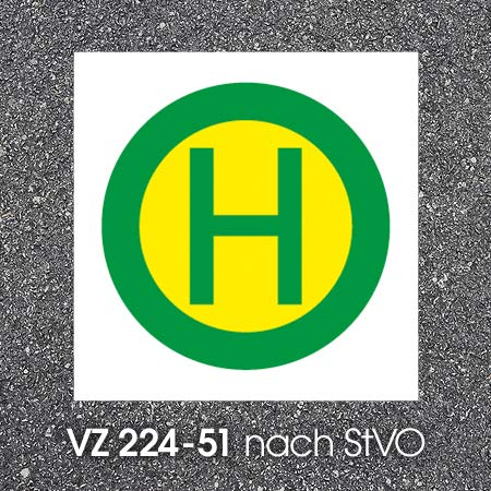 Bornit Bodenmarkierung - VZ 224-51 -...