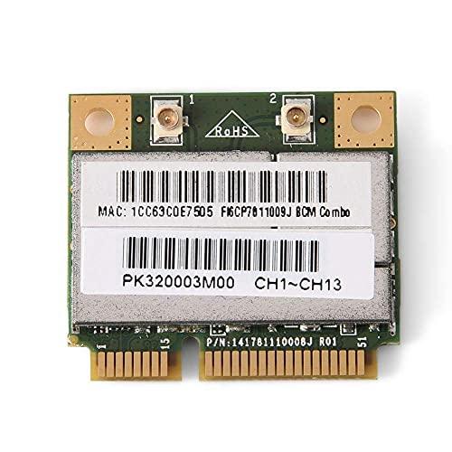 Tarjeta de red inalámbrica DealMux Bluetooth4.0 WiFi PCI-E 150 Mbit/s Computadora de escritorio Tarjeta de red Soporta inalámbrica 802.11B / G/N para Intel/ATI/AMD PCI-E AGP