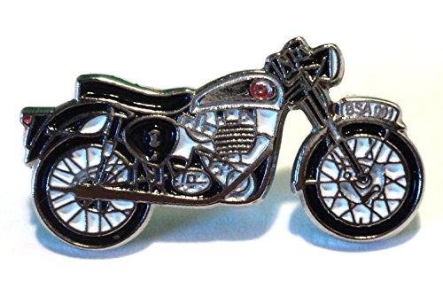 BSA Goldstar Classic 1960's Biker Rocker Metall Motorrad Emaille Badge