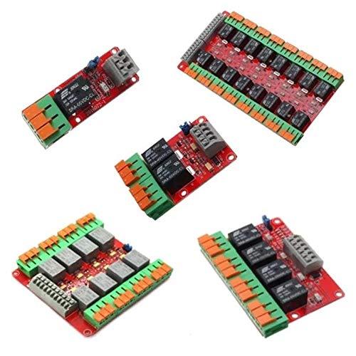 Nologo CKQ-KQ Channel 20A Relay 1/2/4/8/16 Control Module For Arduino UNO R3 Raspberry Pi - 4CH Driver Modules Relays