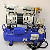 Vacuum System w/Twin Piston oilfree Oil-Less High Performance Vacuum Pump...