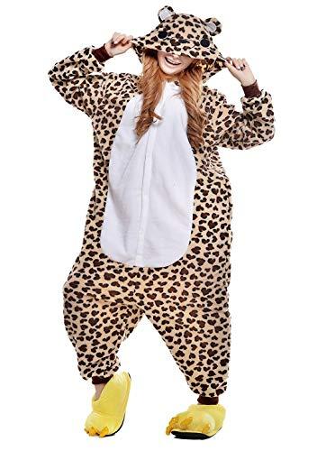 Leoparden Bären Pyjamas Mädchen Bekleidung Animal Erwachsene Unisex Schlafanzüge Karneval Onesies Cosplay Jumpsuits Anime Carnival Spielanzug Kostüme Weihnachten Halloween Nachtwäsche