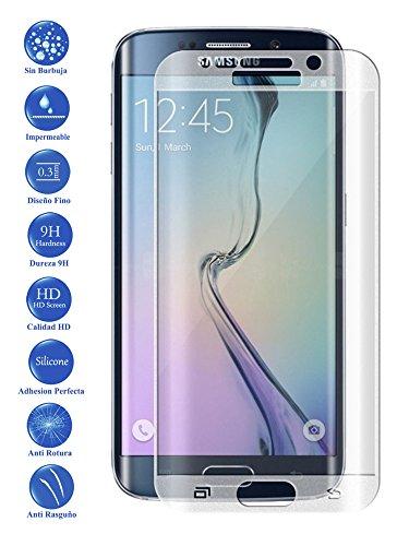 Todotumovil Protector de Pantalla Samsung Galaxy S7 Edge Color Transparente Completo 3D...