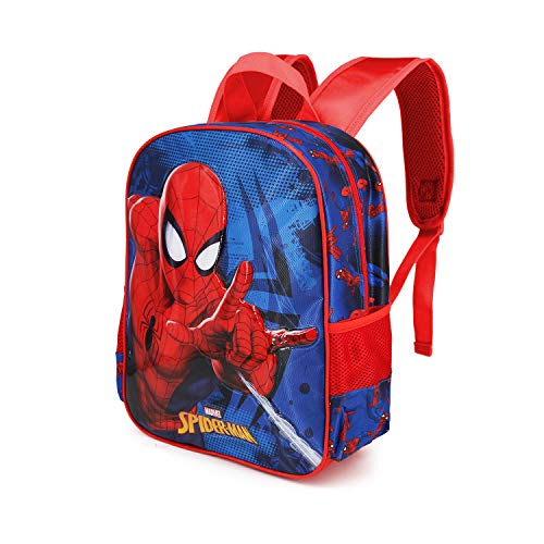 Karactermania Spiderman Crawler - Mochila Basic, Multicolor