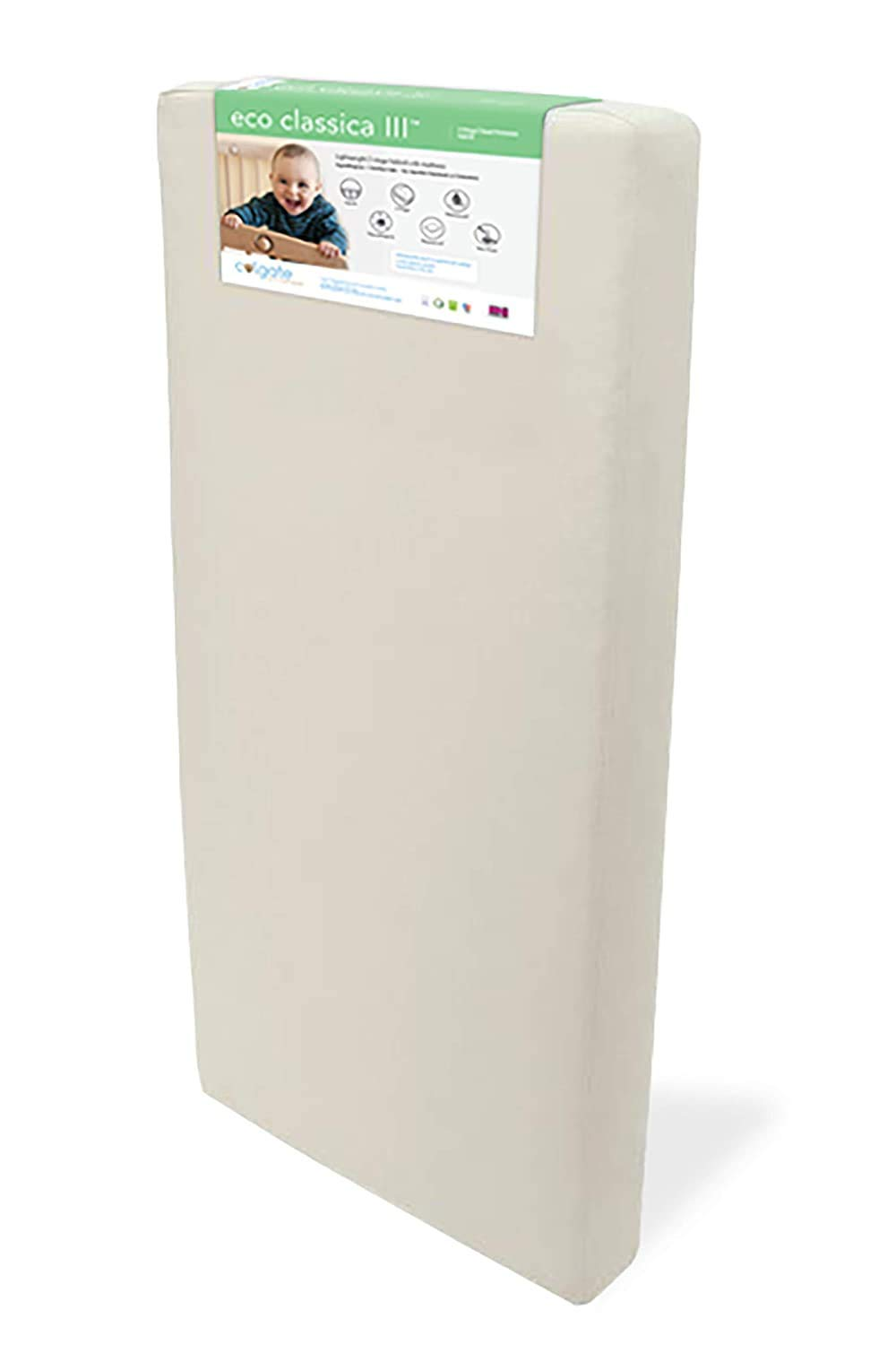 Eco Classica III 2-Stage Baby Matt Max 86% OFF by Mattress Toddler Colgate Surprise price