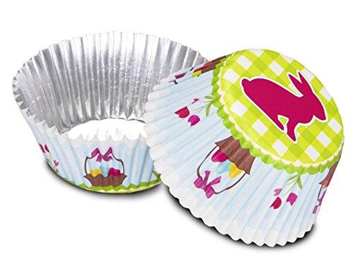 Staedter Petit Lapin de Pâques Papier Plaque de Cuisson, Multicolore, Lot de 50