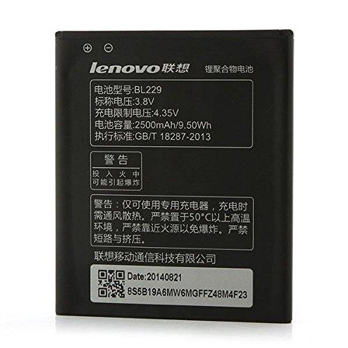Original Lenovo BL229 2500mAh batería para Lenovo A806 A8