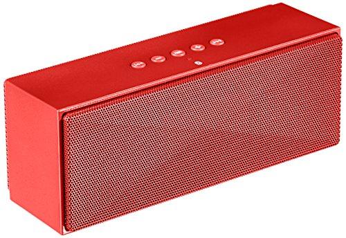 AmazonBasics Tragbarer Bluetooth-Lautsprecher - Rot