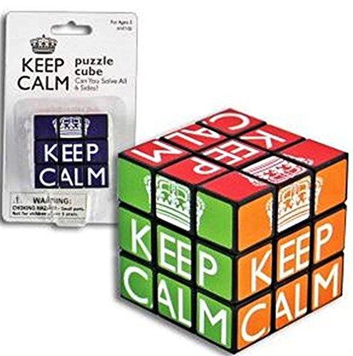 Keep Calm Cube Puzzle