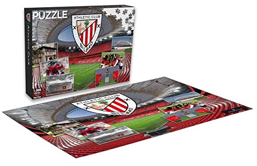 Athletic Club Bilbao Puzzle Athletic Club 1000 Piezas (11862), Multicolor (Eleven Force 1)
