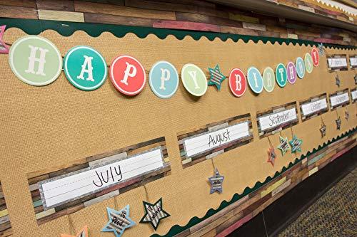 Burlap Better Than Paper Bulletin Board Roll Photo #2