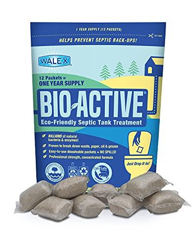 Walex BIO-31112 Bio-Active Drop-Ins Septic Additive