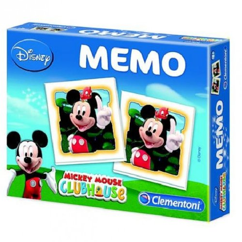 Clementoni Topolino Memo Mickey Mouse ClubHouse Disney