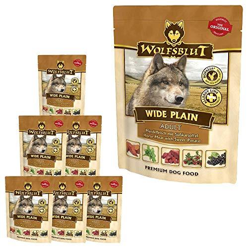 Wolfsblut Wide Plain Nassfutter Pouch 7x300 g