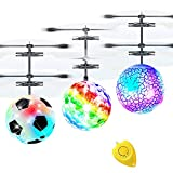 3 Pack Flying Ball Kids Toys RC Flying Toys Hand Control Helicopter Infrared
